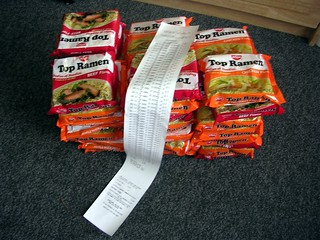50 Packs of Top Ramen | by PhotoDu.de / CreativeDomainPhotography.com