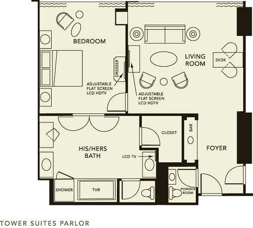Small Hotel Room Plan