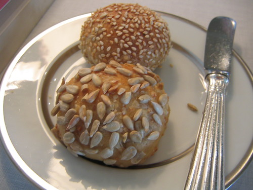 Sunflower seed bun and Belgian beer with sesame bun. | by ulterior epicure