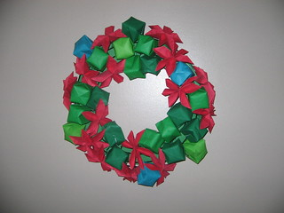 origami wreath | by katiek2