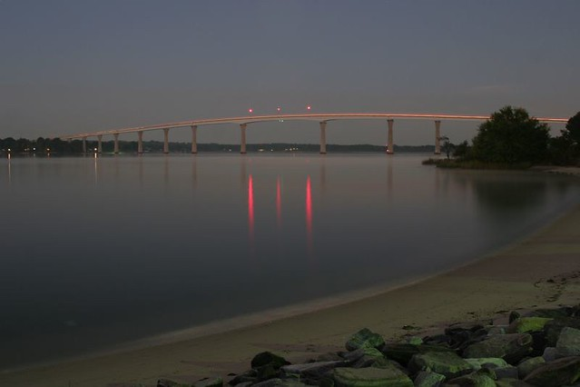 Solomons Island Bridge Illuminated I D Been Wanting To