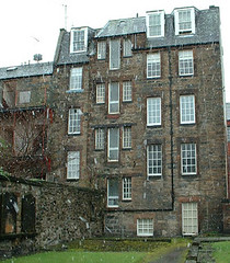 Dunbars Close from Canongate burying ground | by killearnan