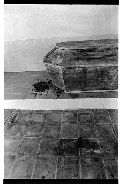 Morgue in San Salvador, El Salvador, 1982 | by Marcelo  Montecino