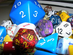 Closeup of my dice collection | by 8one6