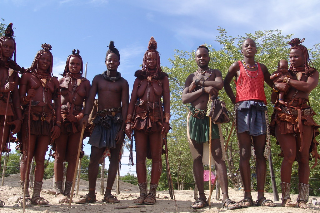 Group Of Himba People  Charles Roffey  Flickr-4931