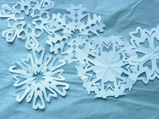 Paper Snowflake valentines | by wise craft, handmade by Blair Stocker