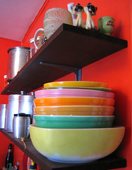 kitchen shelves | by you can count on me