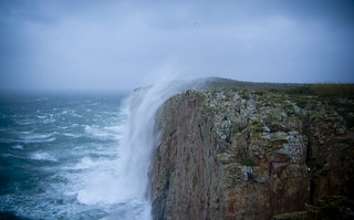 Raining Up at the End of the World, Sagres, Portugal | by Michael Joseph Goldst... etc