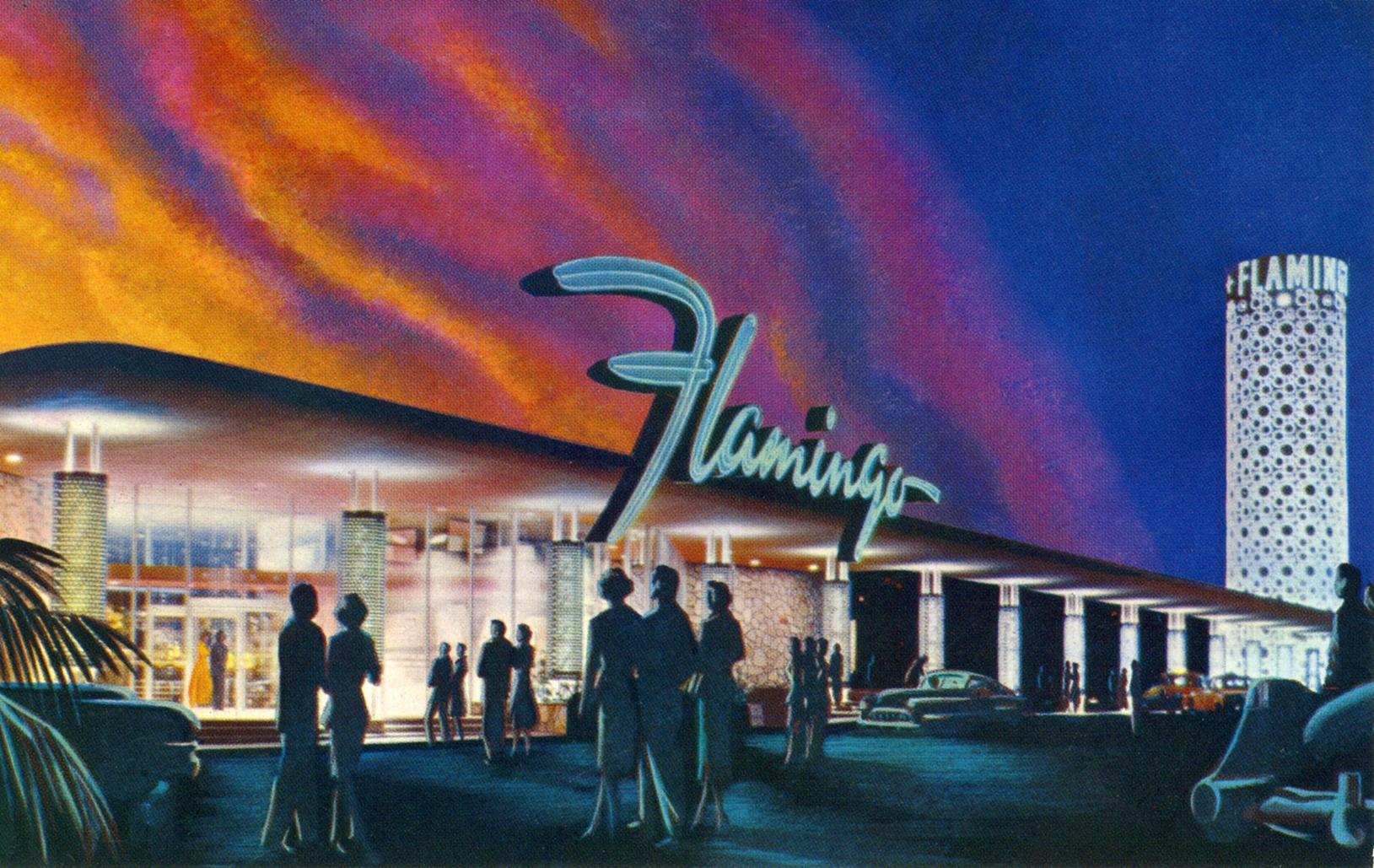 Flamingo Hotel and Casino - 3555 Las Vegas Boulevard South, Las Vegas, Nevada U.S.A. - 1958