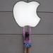 Apple logo in Chicago