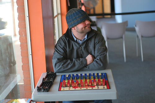 Stratego at the laundromat | by chrisglass