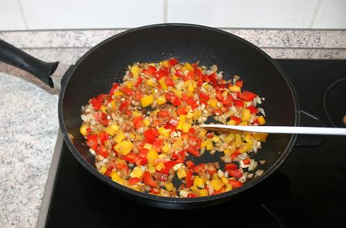 26 - Paprika mit andünsten / Braise bell pepper
