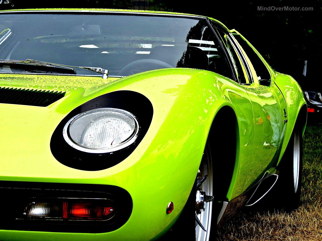 Greenwich 2 Lamborghini Miura Green