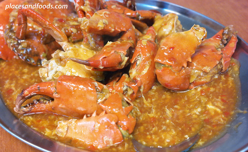 restoran wong poh crab with sweet and sour sauce