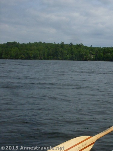 Islands and peninsulas on Kabetogama Lake, Voyageurs National Park, Minnesota