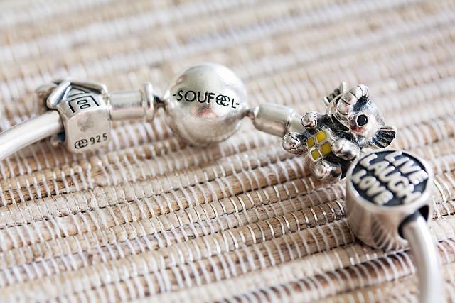 cute & little blog | soufeel charm bracelet jewelry review