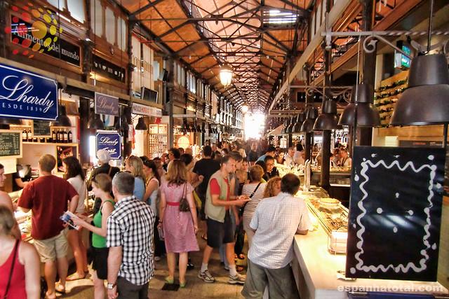 os melhores mercados gastronômicos em Madri: o Mercado de San Miguel