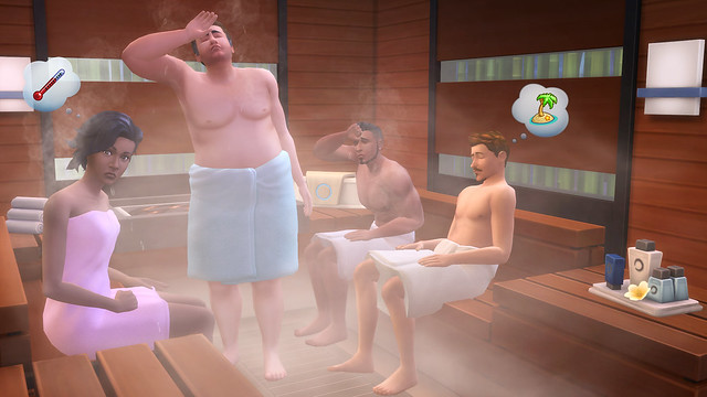 The Sims 4: Spa-Day (DLC) (PC) 2015
