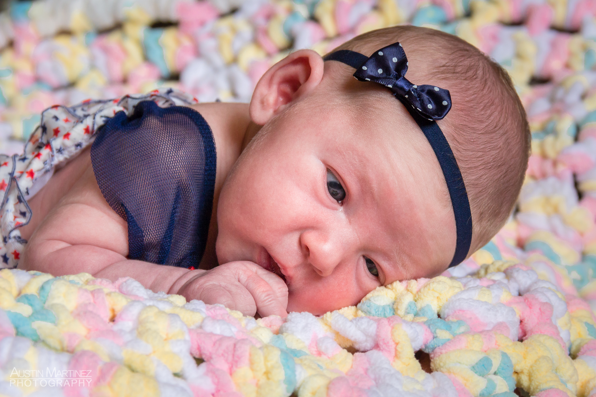 Sloane Rose Newborn Photoshoot