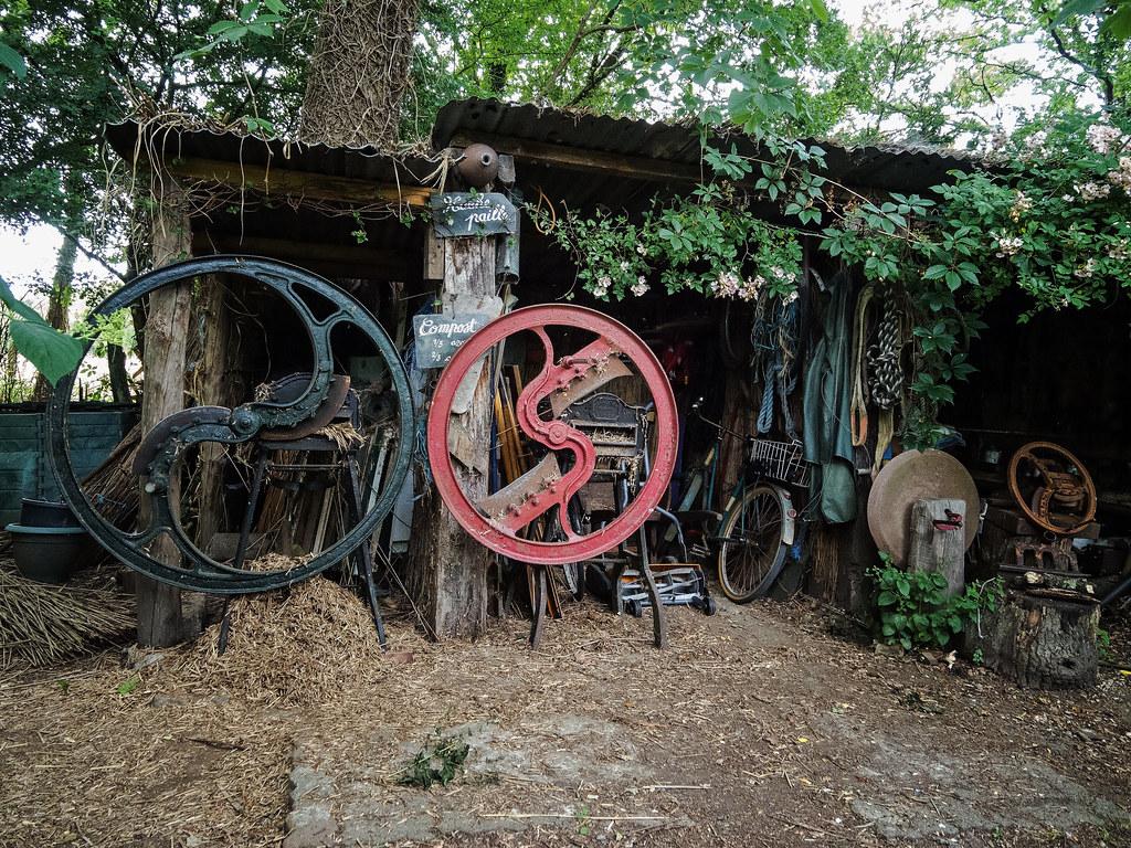 les jardins du marais de annick bertrand et yves gillen flickr. Black Bedroom Furniture Sets. Home Design Ideas