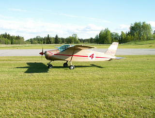 LN-TVI MFI-9 Junior at closed Stockholm/Barkarby ESKB | by Krister Karlsmoen