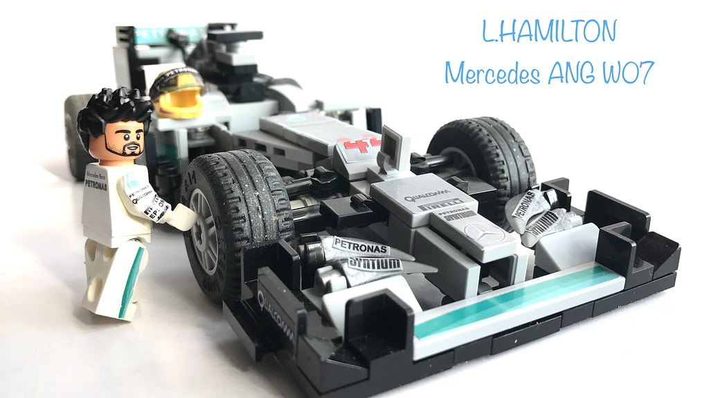 lego formula 1 mercedes amg w07 l hamilton 2016 brasil 10 flickr. Black Bedroom Furniture Sets. Home Design Ideas