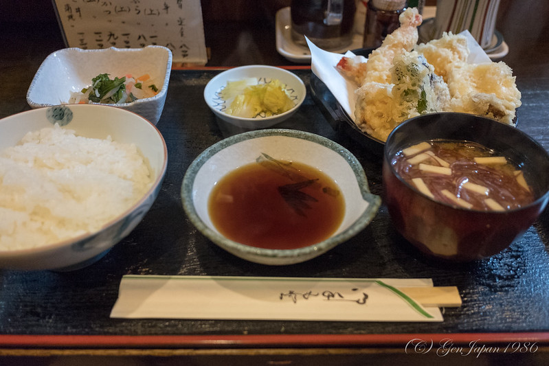 藤タ 天ぷら定食