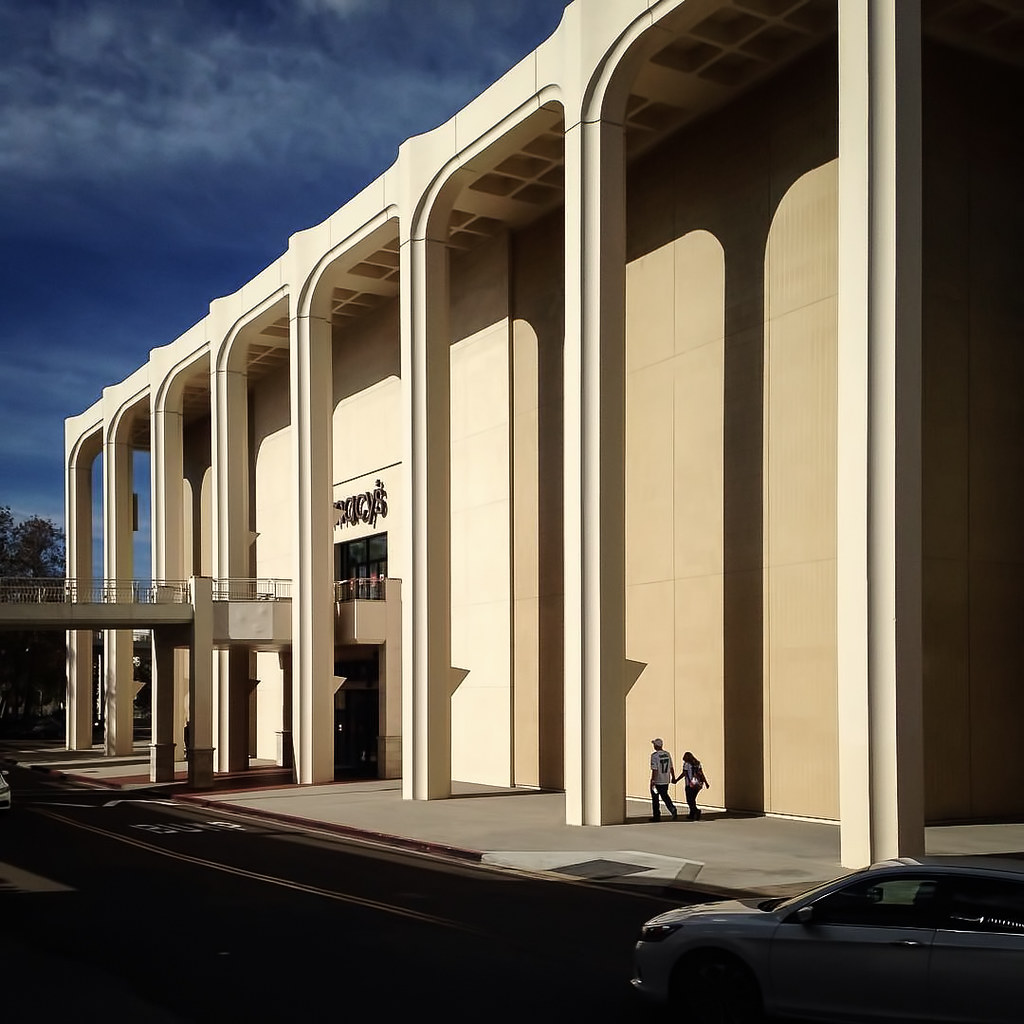 Modernist Architecture: Mission Valley Macy's: What's Left
