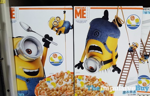 Despicable Me Minion Made Brown Sugar Vanilla Cereal | by theimpulsivebuy