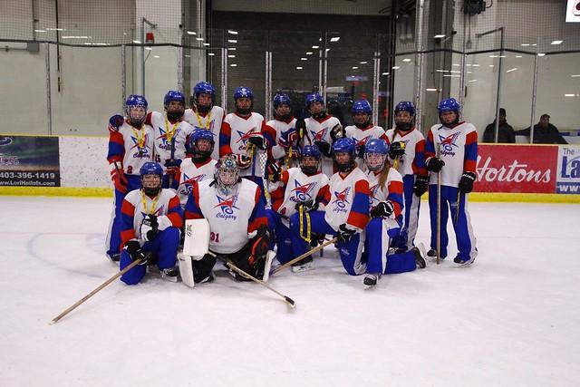 Dec 17, 2016 - Lacombe Ice Bkr - U16AA Impact wins Silver