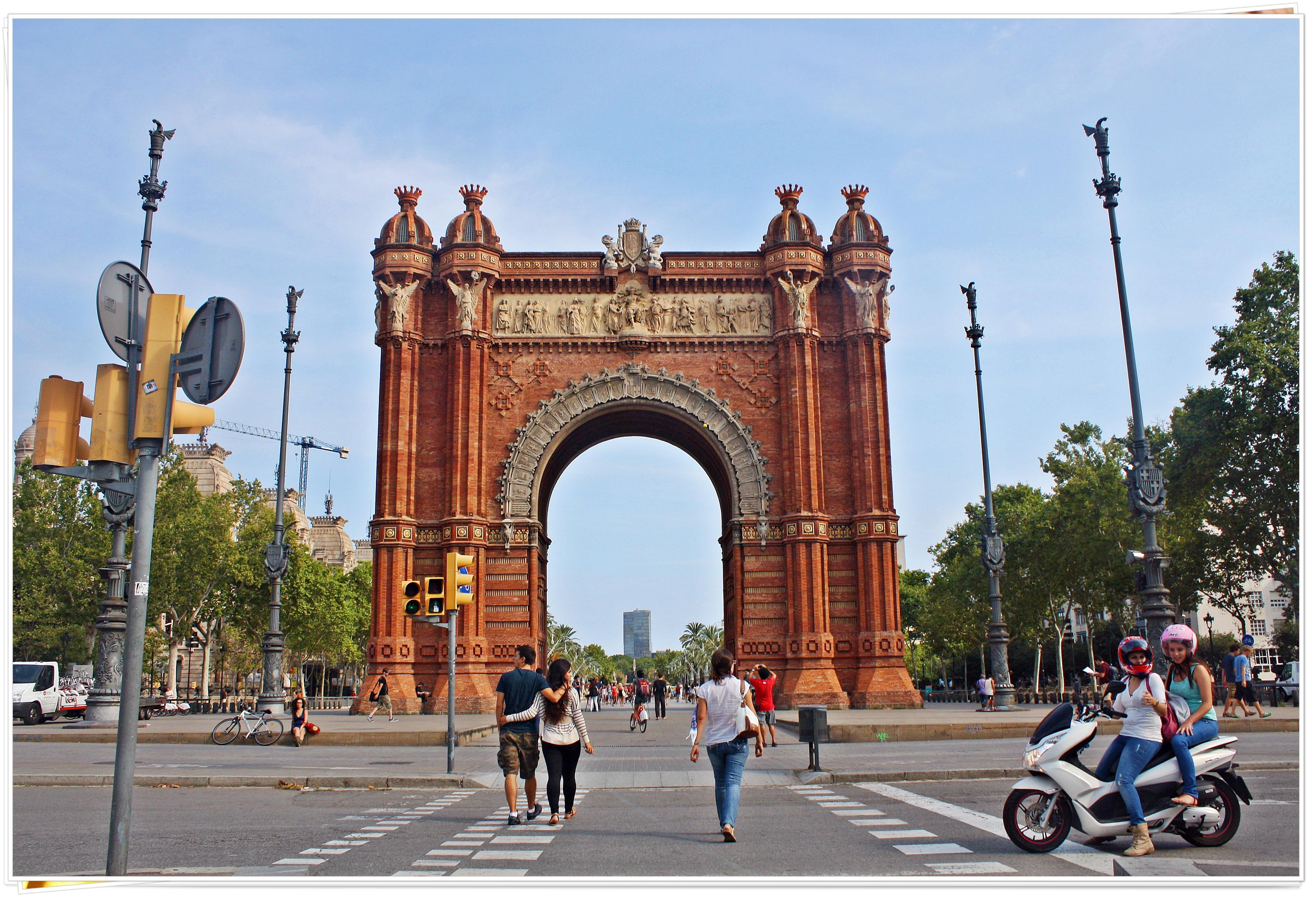 Arc de Triomf - Barcelona, Spain 2013