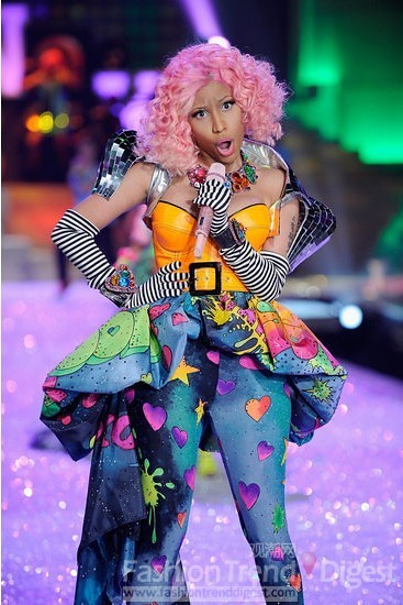 Fashion Lei Mu Nicki Minaj to overtake Lady Gaga