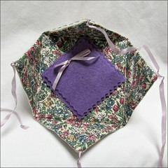 Miss Kitty's Dragons Needle Case, inside