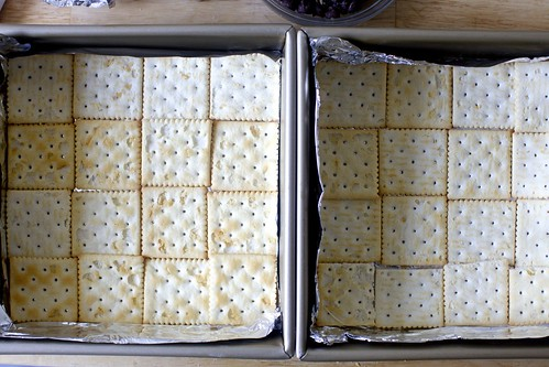 tiling the saltines