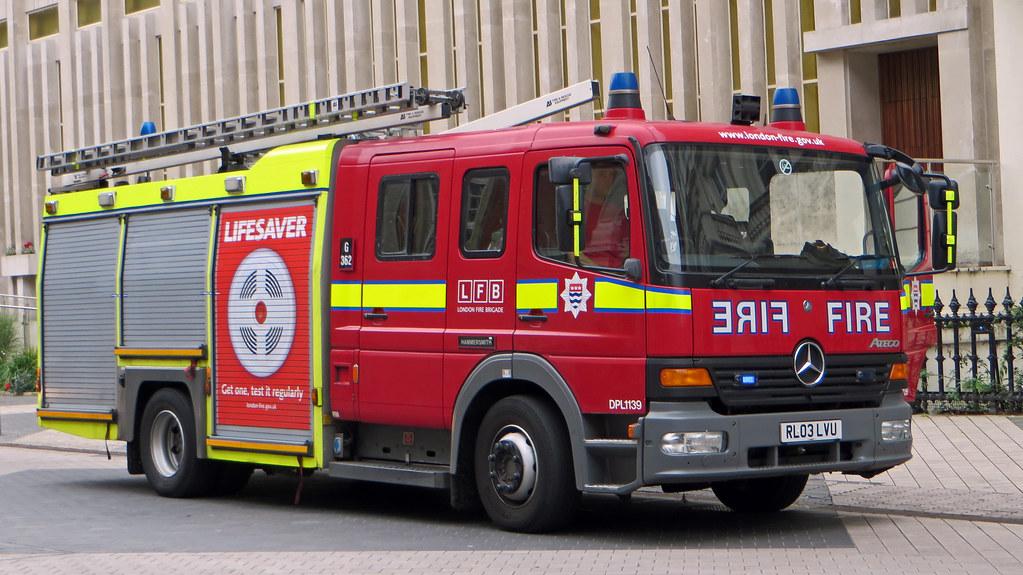City Of Westminster London Uk London Fire Brigade