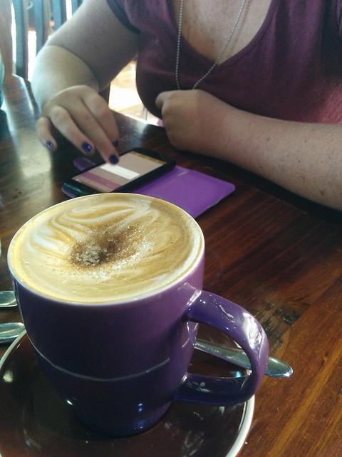 purple coffee aroma's glendale