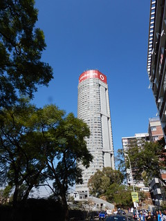 Famous Ponte City Tower in Hillbrow