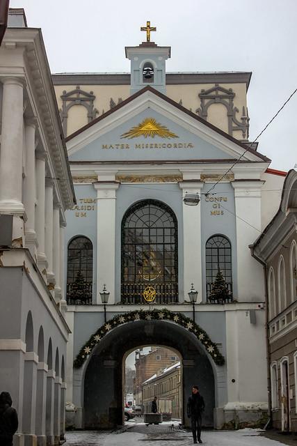 Puerta del Amanecer en la capital de Lituania