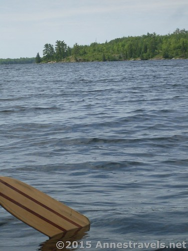 Canoeing on Kabetogama Lake, Voyageurs National Park, Minnesota