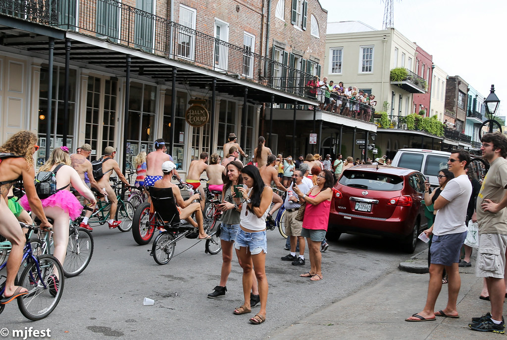 World Naked Bike Ride  New Orleans - June 2015  Flickr-7947