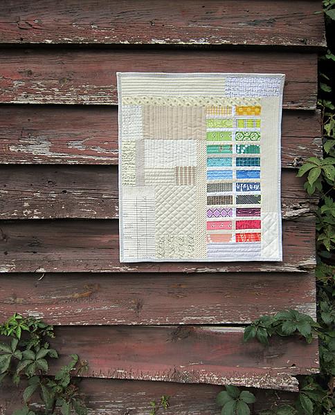 Fantastisch Rainbow Bricks Mini | By StitchedInColor Rainbow Bricks Mini | By  StitchedInColor