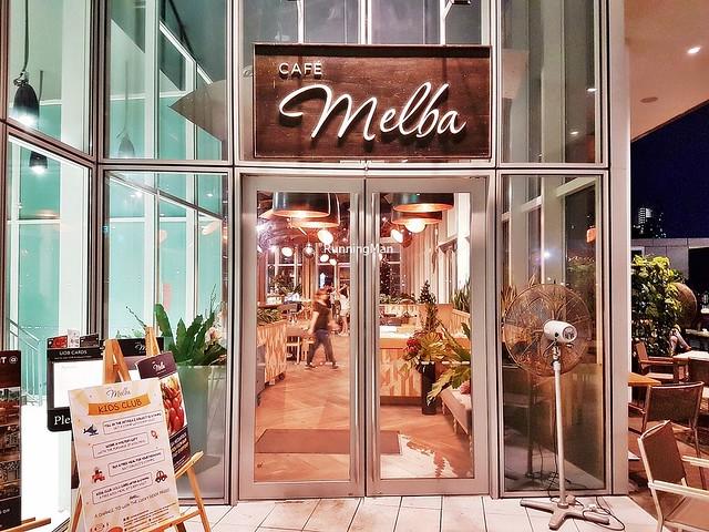 Cafe Melba Signage