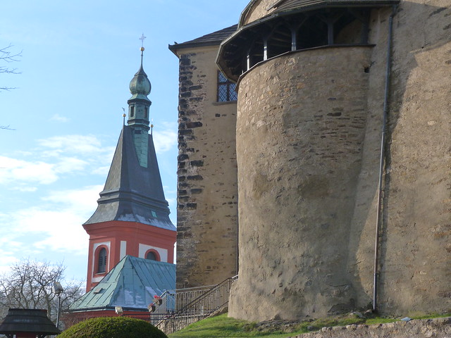 Castillo de Loket (Bohemia Occidental, República Checa)