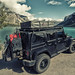 Jeep wrangler with Tepui Tent at lake in Alberta