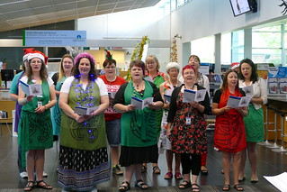 Christmas Waiata at South Library | by CCL Staff