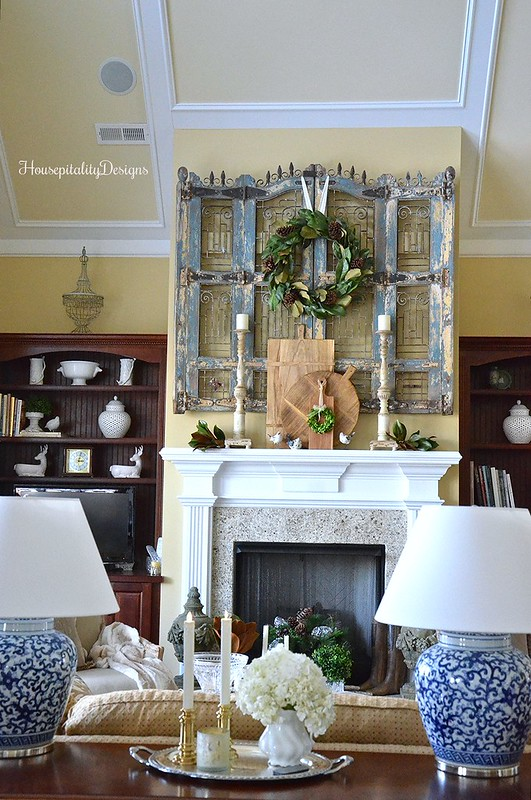 Winter Home Tour-Great Room-Housepitality Designs