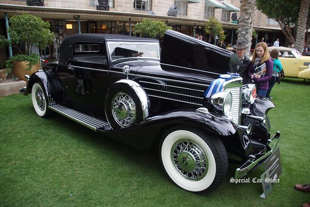 1933 Marmon V16 Convertible Coupe