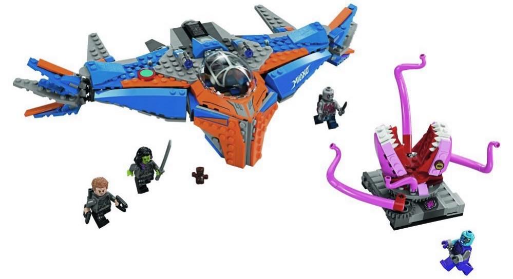 LEGO Marvel Super Heroes 76081 - The Milano vs. The Abilisk