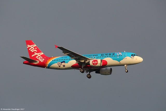 9M-AHE // AirAsia // A320-216