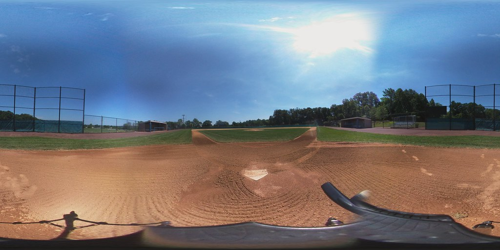Ward Field - Home Plate View